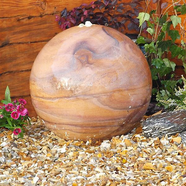 Deco Pak Eastern Drilled Natural Stone Water Feature - 40cm