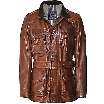 Belstaff Waxed Leather Panther Jacket