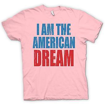 Kinder T-shirt - ich bin der amerikanische Traum - lustig