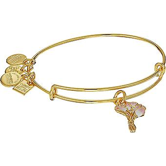 Alex And Ani Charity by Design - Pink Tulips EWB - SG Bracelet - CBD18PTSG