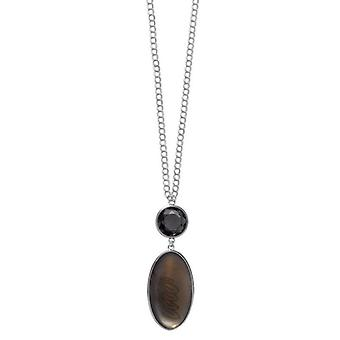Pilgrim GoDiva ladies´ necklace  grey/silver (549111)