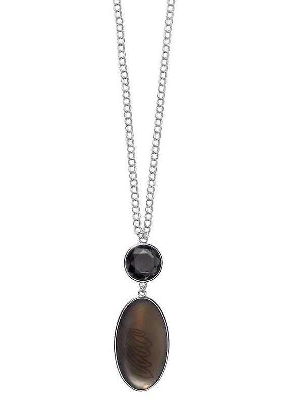 Pelgrim GoDiva Damenhalskette grijs/zilver (549111)