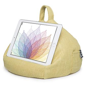 Ipad, tablet & ereader bean bag stand by ibeani - citrus