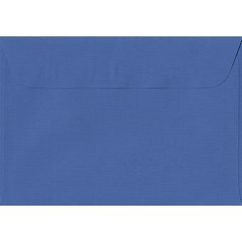 Royal Blue Peel/Seal C6/A6 Coloured Blue Envelopes. 100gsm Swiss Premium FSC Paper. 114mm x 162mm. Wallet Style Envelope.