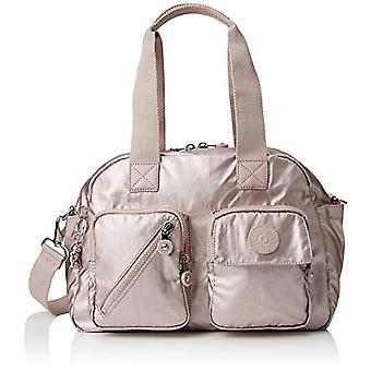 Kipling Defea Up - Women's Pink Bucket Bags (Metallic Rose) 33x24.5x19 cm (B x H T)