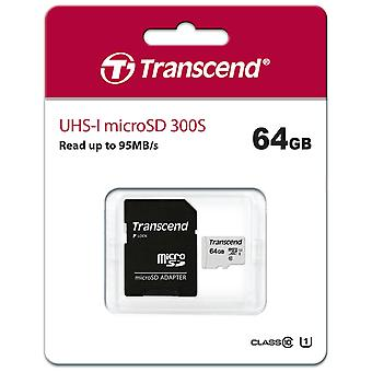 Transcend MicroSDHC 64GB U1 (R95/W45)