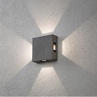Konstsmide Cremone 7984 High Power LED Square Wall Lamp