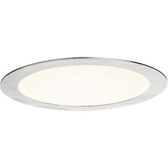 Flush mount light 14 W Warm white Paulmann 92038 Iron (brushed)