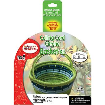 Coiling Cord Kit-Citrone Basket CB4K04