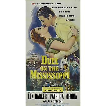Duel on the Mississippi Movie Poster (11 x 17)