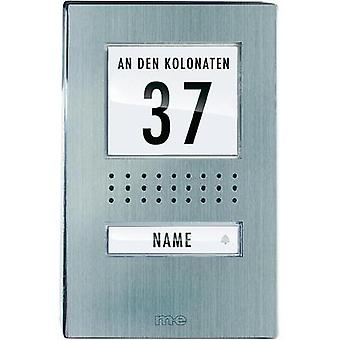 Door intercom Corded Outdoor panel m-e modern-electronics ADV 110.1 EG Detached Stainless steel