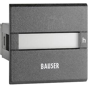 Bauser 3801.2.1.0.1.2 Digital timer or pulse counter - new! Twin solution Assembly dimensions 45 x 45 mm