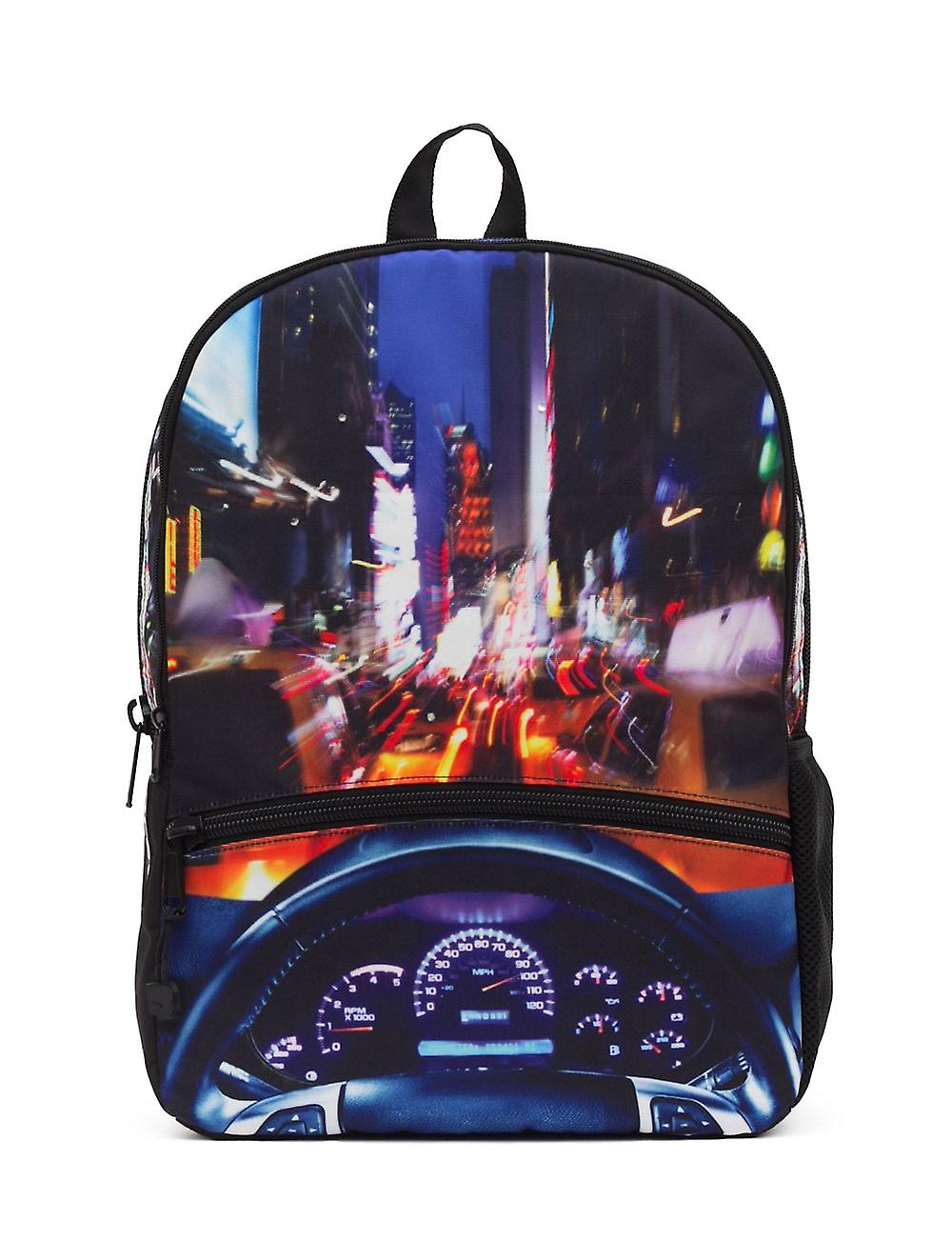 Mojo Backpacks NYC Cruisin Bag Accessory School LED Lights Driving Car New York