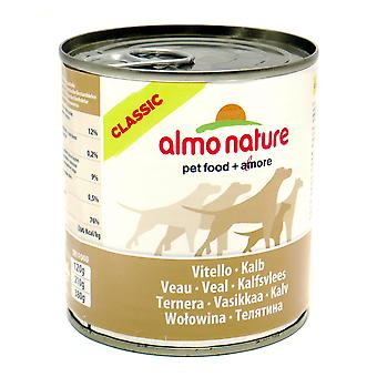 Almo Nature Classic Dog Adult Veal 290g (Pack of 12)