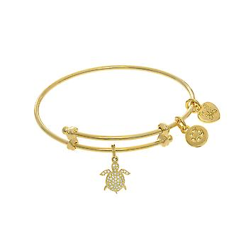 Turtle Charm Adjustable Bangle Girls Bracelet