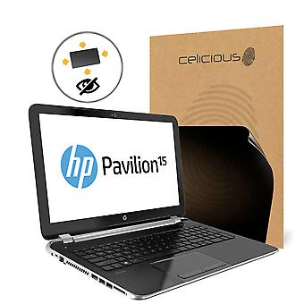 Celicious Privacy Plus HP Pavilion 15 AU107NA 4-Way Visual Black Out Screen Protector