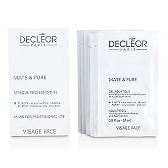 Decleor Mate & Pure Mask Vegetal Powder - Combination to Oily Skin (Salon Size) - 10x5g