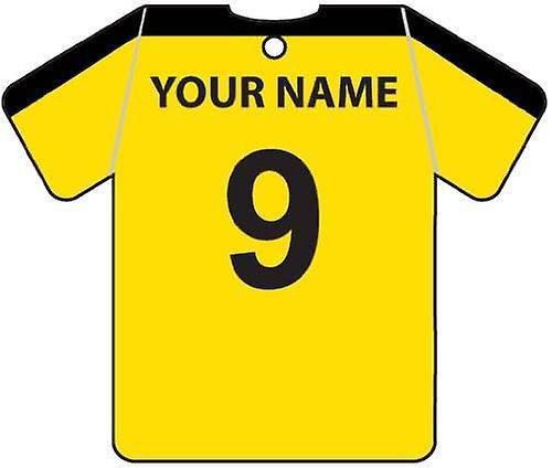 Personalisierte East Fife Football Shirt Auto Lufterfrischer