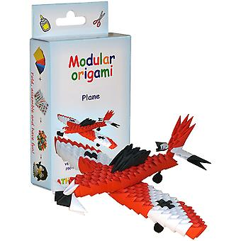 Modular Origami Kit-Red Plane VE005