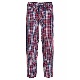 U.S. POLO ASSN. Check trousers mens Pajama pants red 115 4260351885 857