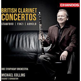 Finzi/Arnold/Stanford - British Clarinet Concertos: Stanford, Finzi, Arnold [CD] USA import