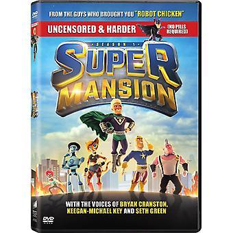 Supermansion: Temporada uma [DVD] EUA importação