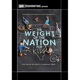 Weight of the Nation for Kids [DVD] USA import