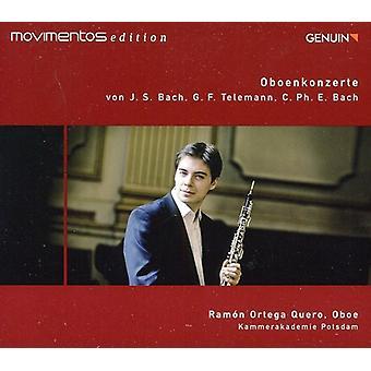 Bach, C.P.E./Bach, J.S./Telemann - Oboenkonzerte Von J.S. Bach, G.F. Telemann, C.P.E. Bach [CD] USA import