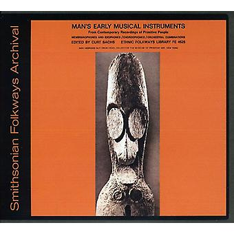 Man's Early Musical Instruments - Man's Early Musical Instruments [CD] USA import