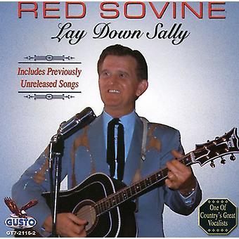 Red Sovine - Lay Down Sally [CD] USA import