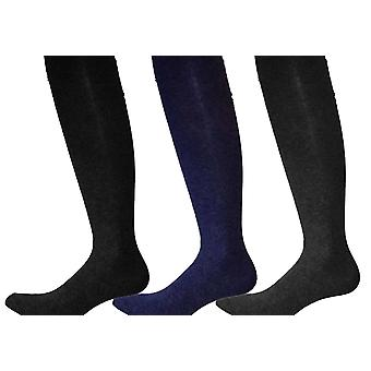Girls Warm Knitted Warm Cotton Rich School Uniform Tights Pack Of 3