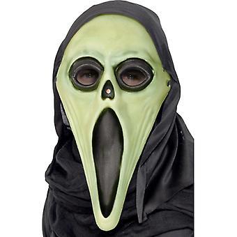 Spiritueux bar masque horreur Halloween s'allume