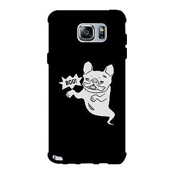 Boo French Bulldog Ghost Black Phone Case