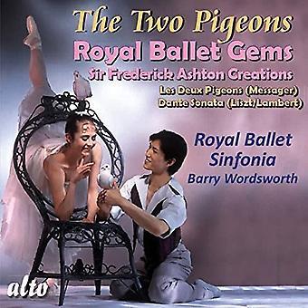 Royal Ballet Sinfonia Barry Wordsworth - Messager: Les Deux Pigeons Liszt (Arr. [CD] USA import
