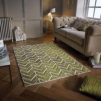Portland 5603 F Rectangle Beige Vert tapis tapis modernes