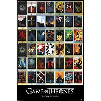 Game of Thrones - Episodes Poster Poster Print