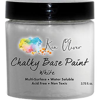 Ken Oliver Chalky Base Paint-White KN07434