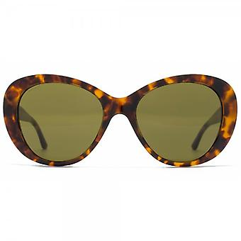 Versace Pop Chic Couture Sunglasses In Havana