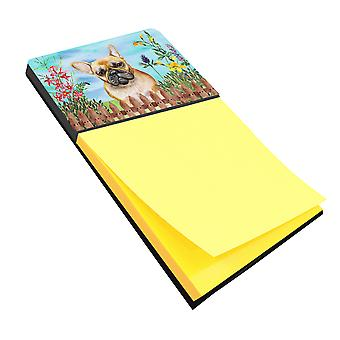 Carolines Treasures  CK1250SN French Bulldog Spring Sticky Note Holder