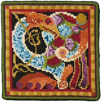 Dark Celtic Bird Needlepoint Kit
