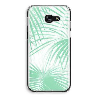 Samsung Galaxy A5 (2017) Transparent Case (Soft) - Palm leaves