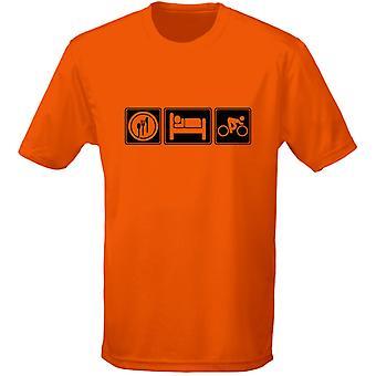 Äta sova cykel barn Unisex T-Shirt 8 färger (XS-XL) av swagwear