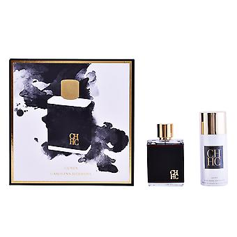 Carolina Herrera Men Eau De Toilette Vapo 100ml + Deo Spray 150ml New Perfume