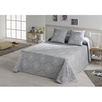 ES-TELA Gray quilted jacquard quilt / bedspread (Textile , Bed Linens)