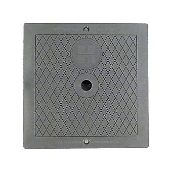 Hayward SPX1082EDGR Square Cover - Dark Gray for Automatic Skimmers