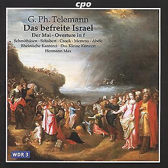 G.P. Telemann - Telemann: Importazione Das Befreite Israel [CD] USA