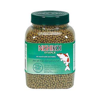 Nishikoi Staple Small Pellet for all Koi andpond fish (20) 650g