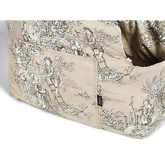 Baroque Pick and Sleep Beige Dog Carrier Bag