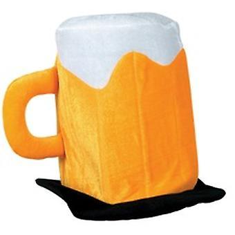 Pluche vilt bier Hat