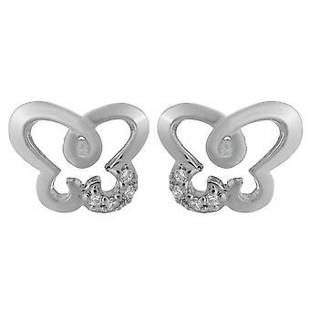 Orphelia Silver 925 Earring Butterfly Zirc  ZO-7088